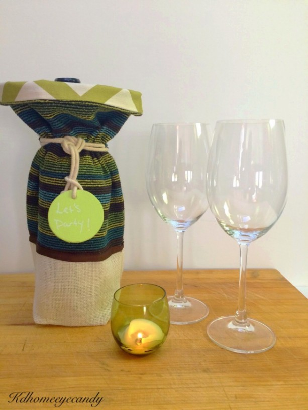 Wine bag aftcra for Best wine for housewarming gift