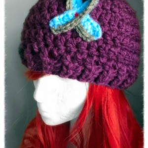 Awareness ribbon hats you choose colors  adult size