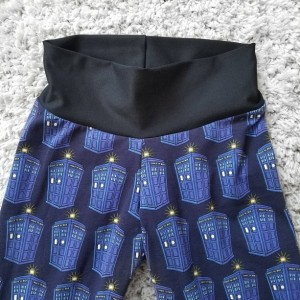 Dr Who TARDIS adult womens teens leggings | Dr Who TARDIS leggings | Dr Who novelty womens leggings | Geeky womens clothing leggings gifts