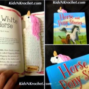 Unicorn book marker set of 2