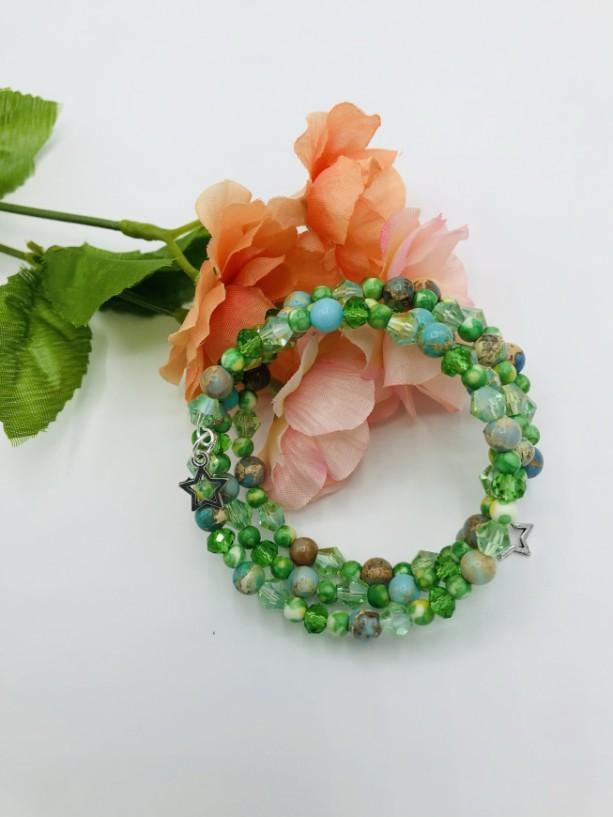Multi Layered Coil Bracelet