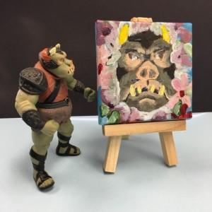 Star Wars Gamorrean Guard Acrylic Portrait