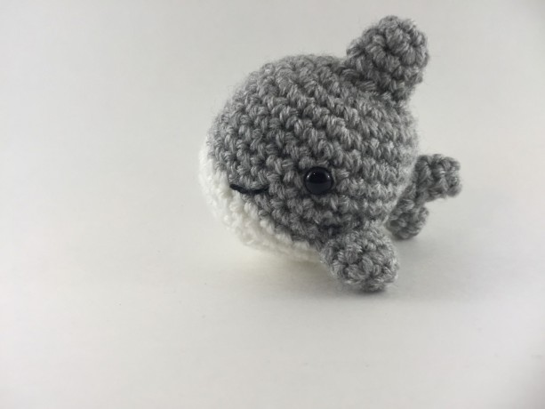 How to Crochet - Easy Beginners Amigurumi Shark Tutorial - YouTube | 460x613