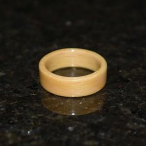 Hand Made (Bentwood Method) Beech Wooden Ring