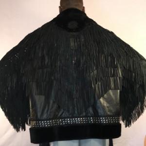 Black vinyl jacket