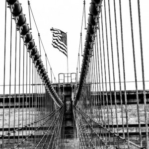"New York Photography, NYC Art, ""The Brooklyn Bridge"""