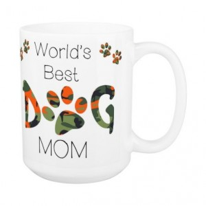 Dog Mom Coffee Mug 12A - Mothers Day Dog Mug - Dog Lover Gift - Worlds Best Dog Mom - Gift for Mom - Gift for Dog Lover - Pet Lovers