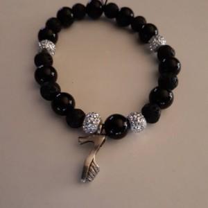 Lava Bead Essential Oil Diffuser Bracelet/Adjustable/Bracelet/Calming/Essential Oil/Essential Oil Diffuser/High Heel