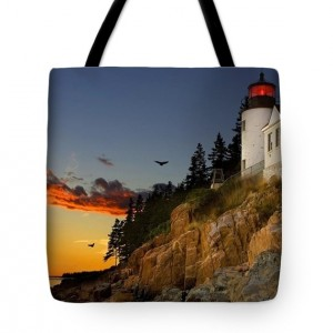 Red Skies At Night Sailors Delight Tote Bag