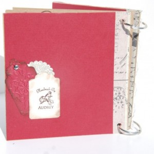 "Scrapbook Mini Album - Photo Album - Keepsake Album - ""Love"""