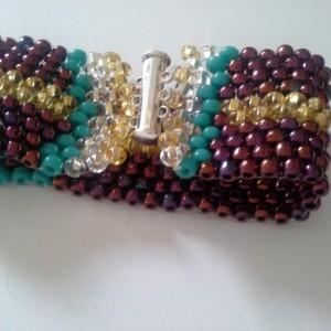 Fun Fiesta Peyote Bracelet