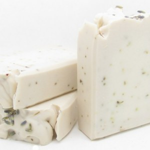 Iced Lavender & Rosemary Goat Milk Soap