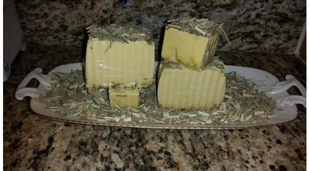 Organic Lemongrass Hemp Soap