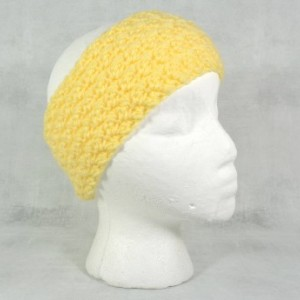 knit headband - knit ear warmer - crochet ear warmer - lemon ear warmer - stocking stuffer - Christmas gift - gift under 20 - women headband