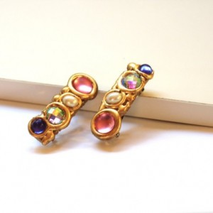 Mini Jeweled Hair Clip