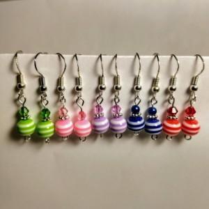 Five Pair of Earrings