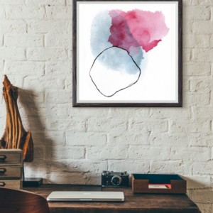 Large Watercolor Abstract Print. Watercolor Abstract Print. Large Watercolor Abstract. Minimalist Abstract Print