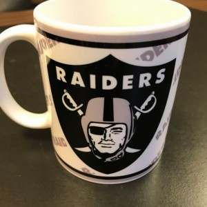 Custom Made Oakland Raiders 11oz Coffee Mug