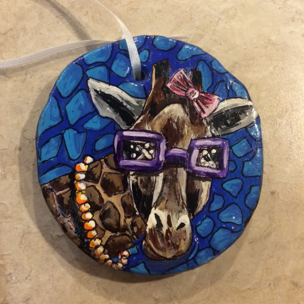 Gloria Giraffe Ornament