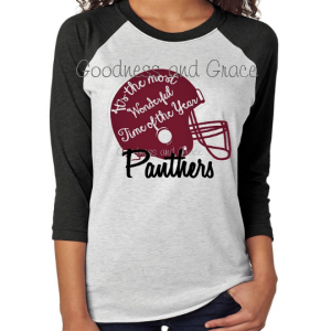 Football Helmet Shirt - It's the Most Wonderful Time of the Year Football Shirt - Football Mom Shirt - Football Team Name Shirt - Team Shirt