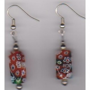 Flowergarden Piereced Earrings