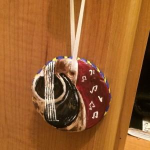 Handmade Guitar Ornament