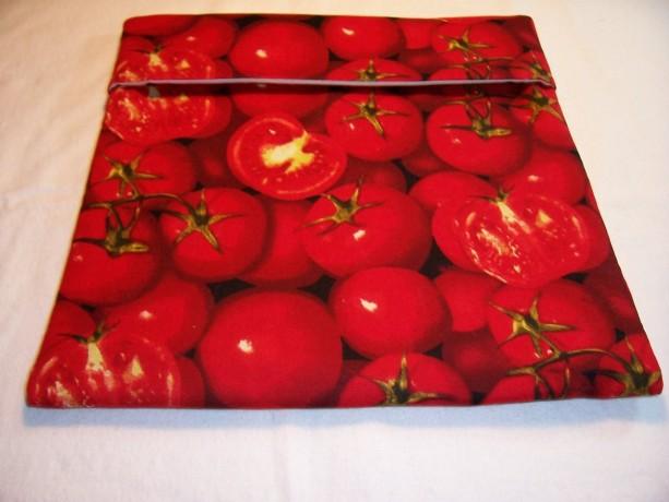 Tomato Print Microwave Potato Bag,Baked Potato,Kitchen,Gifts,Housewarming