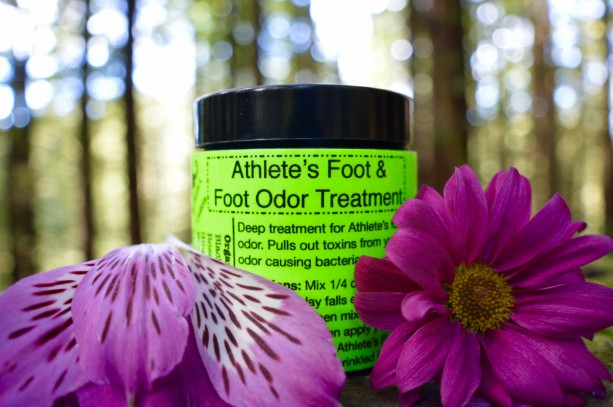 Athlete's Foot & Foot Odor Treatment100% Organic