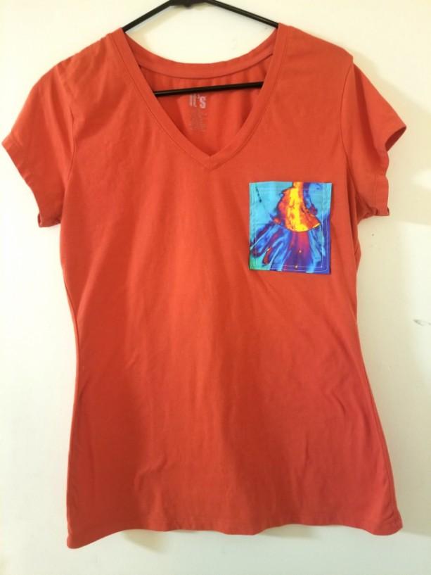 Orange Volcano Pocket