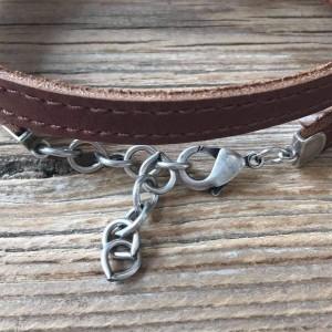 Men's Anchor Bracelet - Men's Personalized Bracelet - Men's Engraved Bracelet - Customized Men Bracelet - Men's Initials Bracelet - Custom
