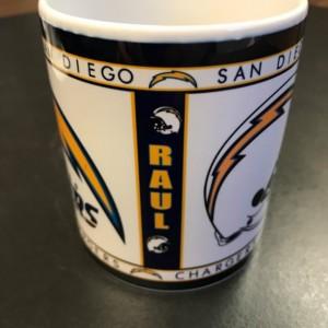 Custom Made San Diego Chargers 11oz Coffee Mug