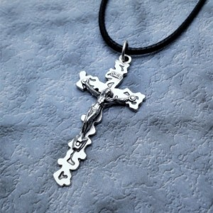 Personalized Crucifix Necklace