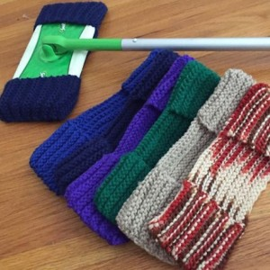 Knitted Swiffer Sweeper Cover