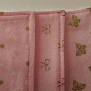 Pink Butterfly and Bows Burp Cloths, Baby Gift, Baby Shower Gift, Feeding Burp Cloths, Burp Rags, Diaper Rags, Spit Rags,  Baby Girl