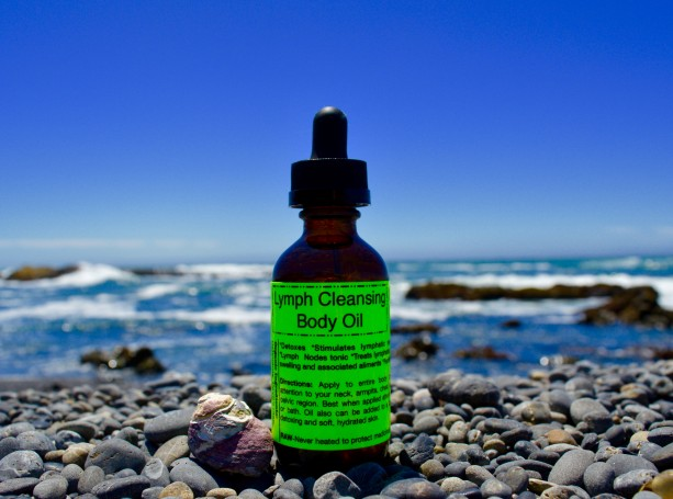 Lymph Cleansing Body Oil-2 oz.