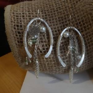 Allegory of Abundance - Cornucopia Earrings