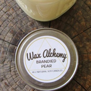 Brandied Pear 8 oz Soy Candle
