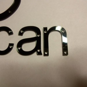 Snapback letters,laser cut letters,acrylic letters,