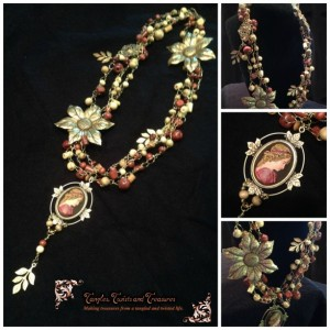 Fall Goddess Necklace