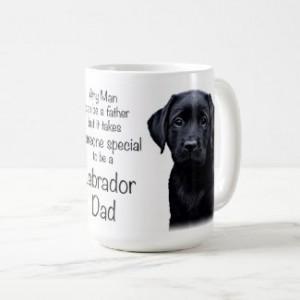 Black Lab Mug - Labrador Mug - Labrador Gifts - Lab Dog- Dog Dad - Lab Dad - Fathers Day -Labrador Retriever - Black Dog Art - Black Lab Art