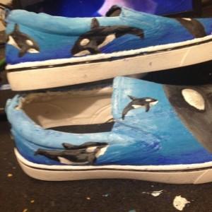 Killer Whale Shoes