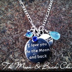 To The Moon & Back Charm Necklace