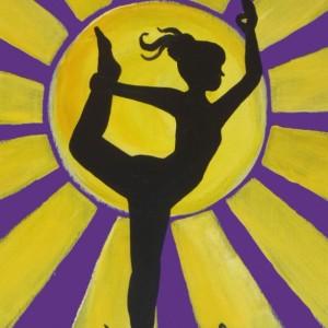 """Dancer in the Sun"" original painting"