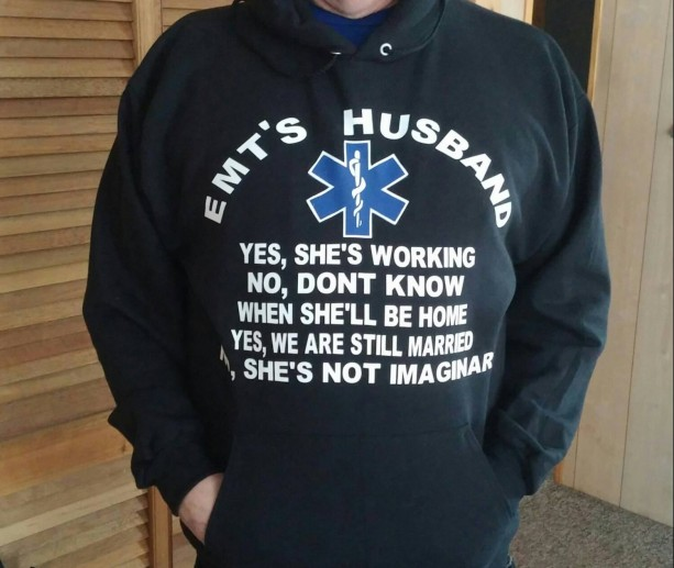 Ems Gift Emt Gift Emt Husband Hooded Sweatshirt Husband Gift Gif Aftcra