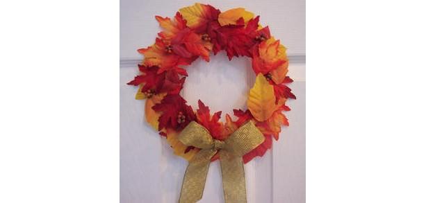 It's Fall Ya'll Leaf Wreath