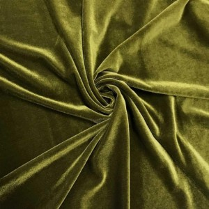 Set of 4 SMALL Plush Velvet Drawstring Pouches