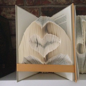 Heart made by Hands / Book Folding