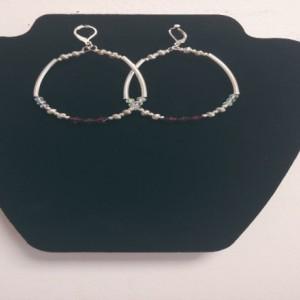Women Vintage Style Hoop Earrings