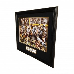 Georgia Tech Miracle On Techwood custom framed picture