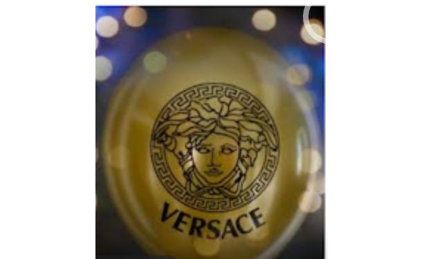 Gold Versace Balloon